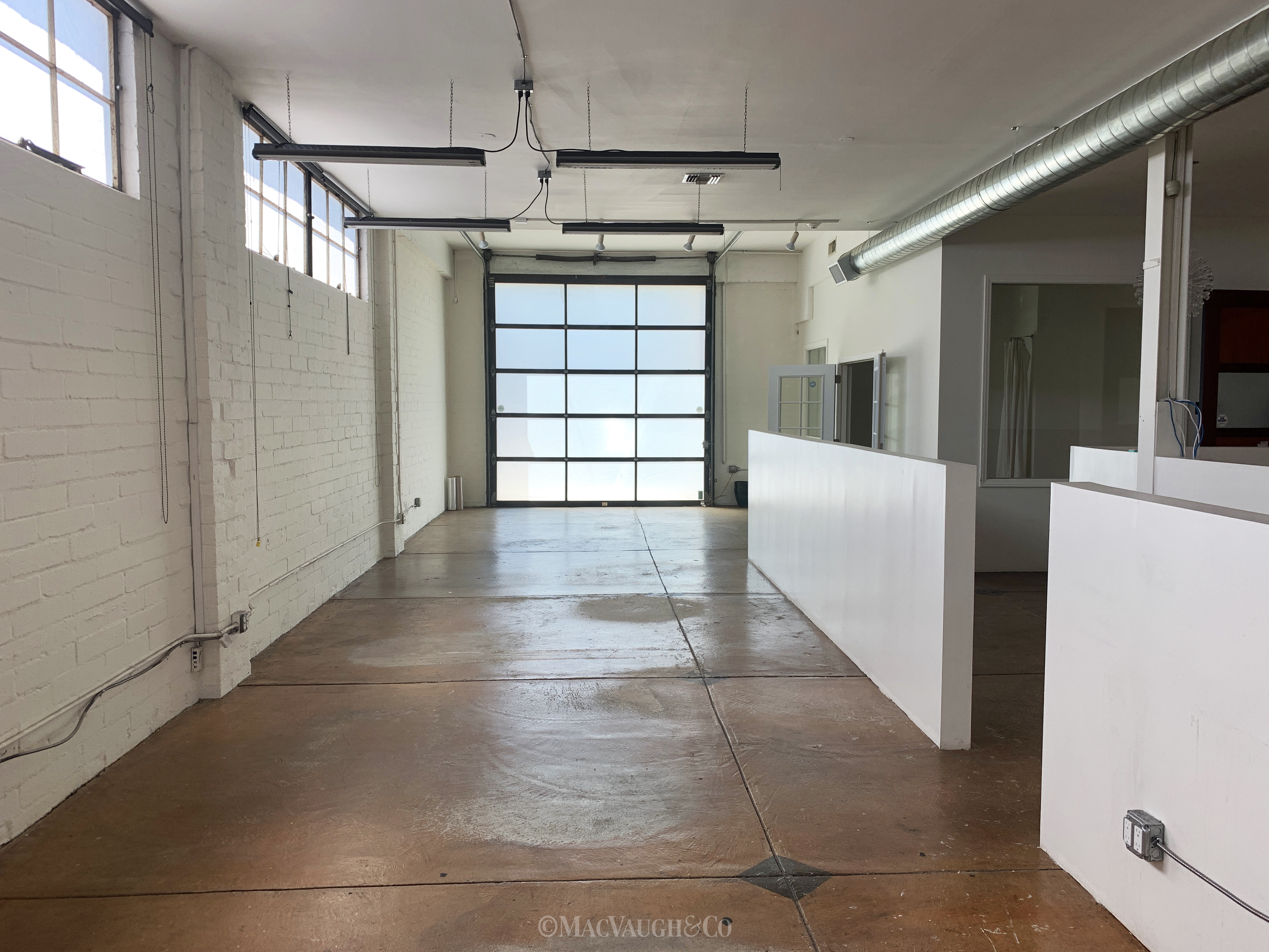 Industrial/Studio Space for Lease